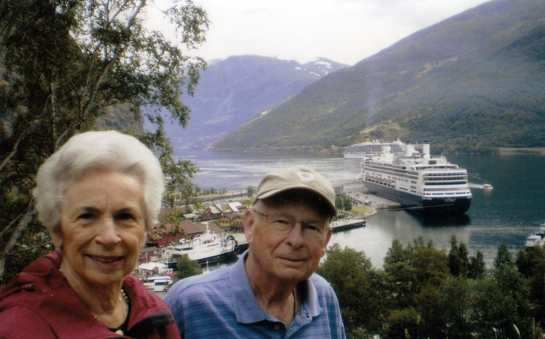 Mary Jo and John in Norway